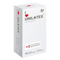 Ультратонкие презервативы Unilatex Ultra Thin + 3 шт. в подарок