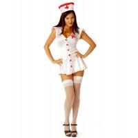 Эротический костюм сексапильной медсестры