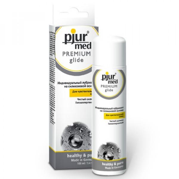 Гипоаллергенный силиконовый лубрикант pjur®MED Premium glide 100 мл.