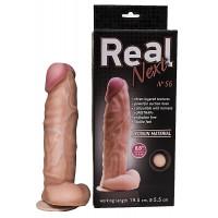 Фаллоимитатор реалистичный гигантский на присоске REAL Next №56