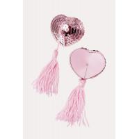 Beauty аксессуар - пэстисы в форме сердец с кисточками изображение № 8