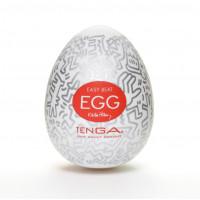 Мастурбатор-яйцо товар для полового члена Keith Haring EGG PARTY