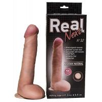 Огромный фаллоимитатор из неоскин на присоске REAL Next №32 длины 24,5 см