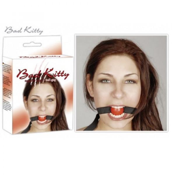 BDSM Кляп Bad Kitty Gag red, 24904203001