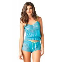 Кружевная пижамка Jersey cami Flirty Short Set