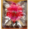 Толстое розовое эрекционное кольцо с вибратором изображение № 1