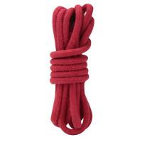Красная хлопковая веревка для связывания