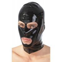 Шлем-маска на голову с отверстиями для рта и глаз