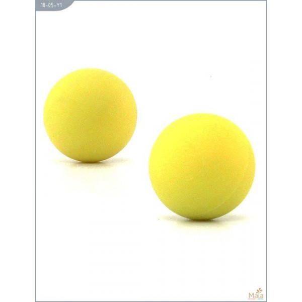Отзывы о товаре Металлические вагинальные шарики с жёлтым силиконовым покрытием